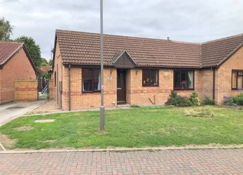 Thumbnail 3 bed semi-detached bungalow for sale in Melton Court, Riddings, Alfreton