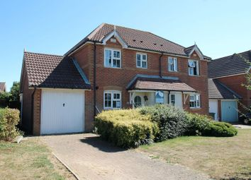 Thumbnail 3 bed semi-detached house for sale in Dragonfly Way, Hawkinge, Folkestone