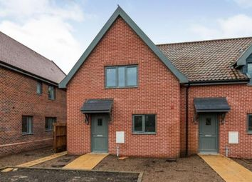 Thumbnail 3 bed semi-detached house for sale in Low Street, Hardingham, Norfolk