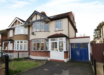 Thumbnail 4 bed semi-detached house to rent in Oakleigh Avenue, Tolworth, Surbiton