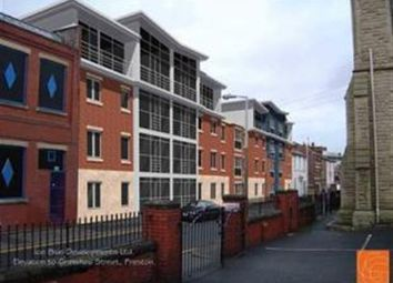 Thumbnail 1 bed flat to rent in Grimshaw Street, Preston