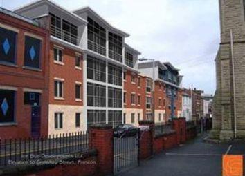 Thumbnail 1 bedroom flat to rent in Grimshaw Street, Preston