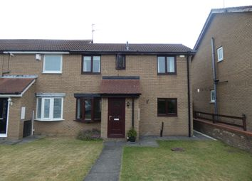 Thumbnail 2 bed semi-detached house for sale in Humsford Grove, Cramlington