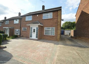 Thumbnail 3 bed end terrace house for sale in The Hoo, Old Harlow, Essex