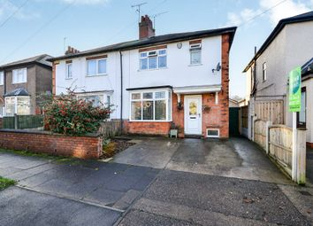 Thumbnail 3 bed semi-detached house for sale in Sandhurst Avenue, Mansfield