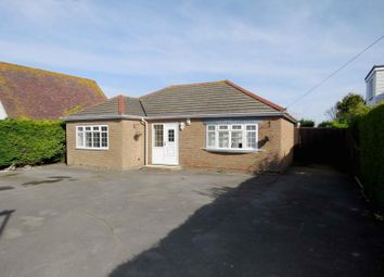 Thumbnail 3 bed detached bungalow for sale in Sandy Point Road, Hayling Island