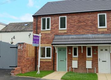 Thumbnail 2 bed semi-detached house for sale in Newport Road, Woodseaves, Stafford
