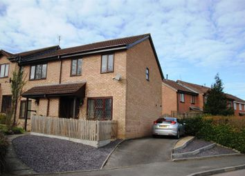 Thumbnail 3 bed terraced house for sale in Basil Close, Swindon