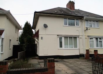Thumbnail 2 bed semi-detached house for sale in Minehead Road, Wolverhampton