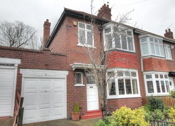 Thumbnail 3 bed semi-detached house for sale in Kirton Avenue, Fenham, Newcastle Upon Tyne