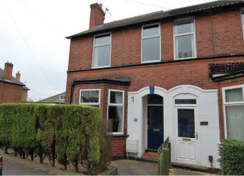 Thumbnail 3 bed semi-detached house for sale in Hilton Road, Mapperley