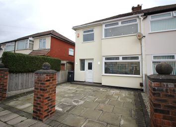 Thumbnail 3 bed semi-detached house for sale in Hilary Avenue, Liverpool, Merseyside
