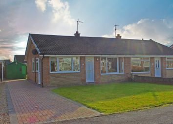 Thumbnail 3 bed semi-detached bungalow for sale in Thatch Close, Selby