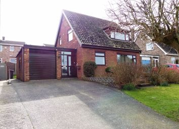 Thumbnail 3 bed detached house for sale in Thurlby Close, Washingborough, Lincoln