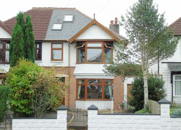 Thumbnail 5 bed semi-detached house for sale in Redlands Road, Penarth