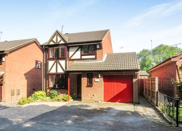Thumbnail 3 bed detached house for sale in Shearwater Close, Sunnyhill, Derby