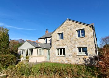 Thumbnail 4 bedroom detached house for sale in Trescowe, Germoe, Penzance
