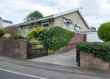 Thumbnail 2 bed semi-detached bungalow for sale in Manor Road, Risca, Newport.