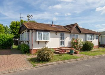 Thumbnail 2 bed mobile/park home for sale in The Cloisters, Brickhill Park, Half Moon Lane, Pepperstock