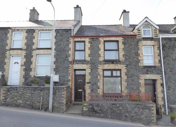 Thumbnail 2 bedroom terraced house for sale in Groeslon, Caernarfon