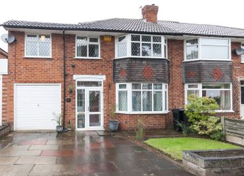Thumbnail 4 bed semi-detached house for sale in Westwood Road, Heald Green, Cheshire