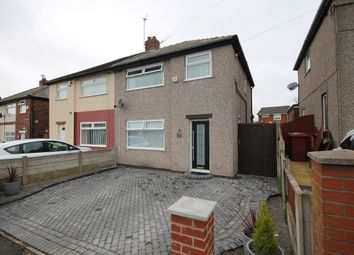 Thumbnail 3 bed semi-detached house for sale in Ash Grove, Whiston, Prescot