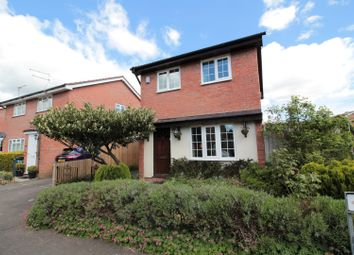 Thumbnail 3 bed detached house for sale in Caradoc Close, St Mellons