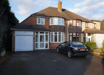 Thumbnail 3 bed semi-detached house for sale in Dalkeith Road, Sutton Coldfield
