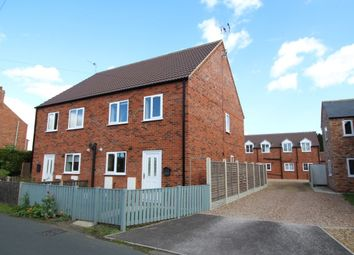 Thumbnail 3 bed semi-detached house to rent in Vicar Lane, Eastrington, Goole