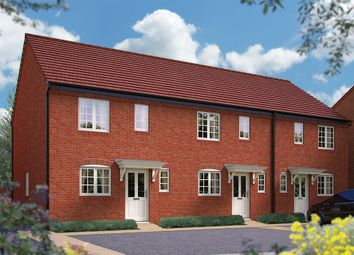 "Thumbnail 2 bed terraced house for sale in ""The Silverstone"" at Harbury Lane, Heathcote, Warwick"
