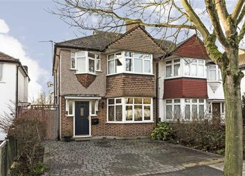 Thumbnail 3 bed semi-detached house for sale in Warren Road, Whitton, Twickenham