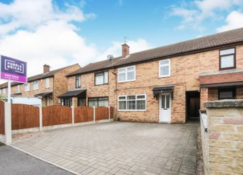 Thumbnail 3 bed town house for sale in Springfield Road, Chaddesden, Derby