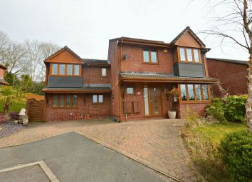 Thumbnail 5 bed detached house for sale in Dorallt Close, Cwmbran