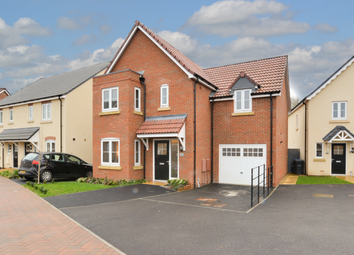 Thumbnail 4 bed detached house for sale in Runnymede Gardens, Trowbridge