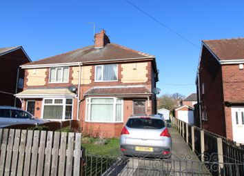 Thumbnail 2 bed semi-detached house for sale in Airedale Road, Airedale, Castleford, West Yorkshire