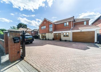 Thumbnail 5 bed detached house for sale in Singlewell Road, Gravesend, Kent