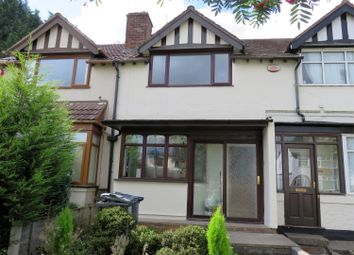 Thumbnail 3 bed terraced house to rent in Balden Road, Harborne, Birmingham