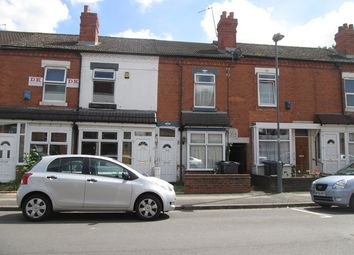 Thumbnail 3 bedroom terraced house to rent in Solihull Road, Sparkhill, Birmingham