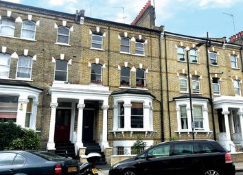 Thumbnail 1 bed flat for sale in Raised Ground Floor Flat, 108 Edith Road, West Kensington