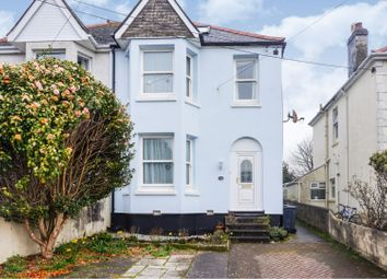 Thumbnail 4 bed semi-detached house for sale in Trelawney Road, St. Austell