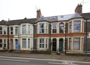Thumbnail 3 bed terraced house for sale in Fairoak Road, Roath, Cardiff