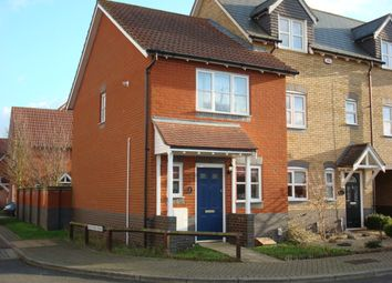 Thumbnail 2 bed semi-detached house for sale in Martinet Green, Ipswich