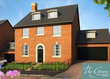 "Thumbnail 5 bed detached house for sale in ""The Knightly @ The Green"" at Pitt Road, Winchester"