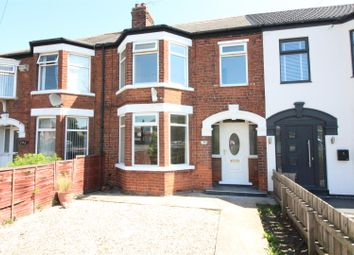 Thumbnail 3 bed terraced house for sale in Bricknell Avenue, Hull