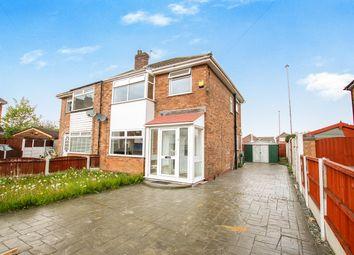 Thumbnail 3 bed semi-detached house for sale in Malpas Drive, Great Sankey, Warrington