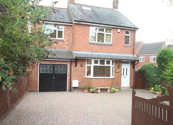 Thumbnail 4 bedroom detached house for sale in Bagworth Road, Newbold Verdon, Leicester