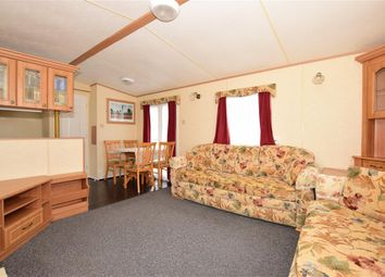 Thumbnail 3 bed mobile/park home for sale in Sandhills Holiday Park, Whitecliff Bay, Bembridge, Isle Of Wight