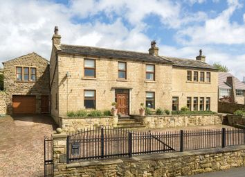 Thumbnail 5 bed detached house for sale in Fall Lane, Hartshead, Liversedge