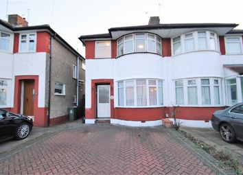 Thumbnail 3 bed semi-detached house to rent in Stratton Road, Bexleyheath, Kent