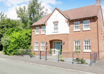 Thumbnail 4 bed detached house for sale in Millers Walk, Ravenstone, Coalville, Leicestershire